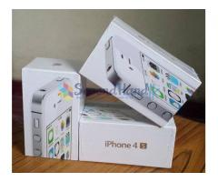 Apple IPhone 4S WHITE 32GB  Factory Unlock SEALED PACK