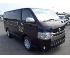 KDH 201 SUPER LUXURY VAN FOR HIRE