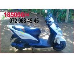 Honda Dio scooter for sale immediately