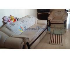 3+2+1=6 Seated Butter Color Sofa Set