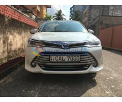 TOYOTA AXIO G GRADE HYBRID 2015(FACE LIFT) FOR SALE