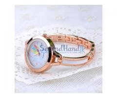 Gold Colour Ladies Watch