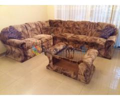 L shape imported Sofa  & Dinning table set