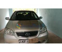 VIOS CAR FOR IMMEDIATE SALE