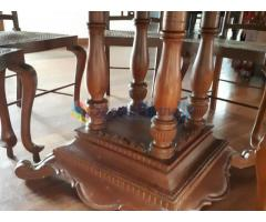 Antique Burma teak Dining Set