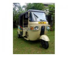 Bajaj 4-Stroke Threewheel for Sale (Used)