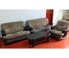 Used sofa set with table for sale