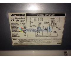 Pre-owned refrigerator for sale (Aftron AFR - 1410F)