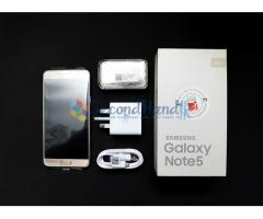Samsung Note 5 GOLD Platinum (Used)