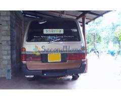 Toyota Hiace Dolpine Van Sale
