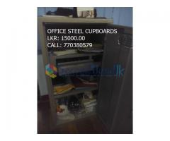 Few months used office furniture's for sale.