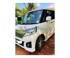 SUZUKI SPACIA CUSTOM 2015 CAR FOR SALE