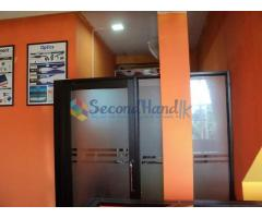 Tempered glass door & Cladding Boards