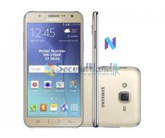 Samsung J7 2015 5 months used