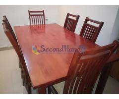 Dining table and 6 chairs for Sale