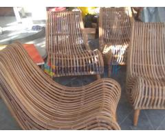 cane lounge chairs
