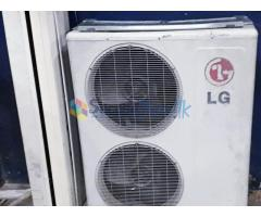 LG Air Conditioner Used for sale (Dual fan outdoor unit)