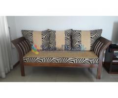 Teak sofa set for sale