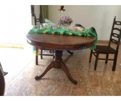 Dining Table with chairs - Teak