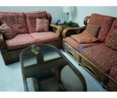 Cane Luxury Sofa