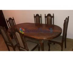 6 Seat Dinning Table set