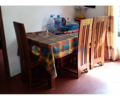 Teak furniture set for sale